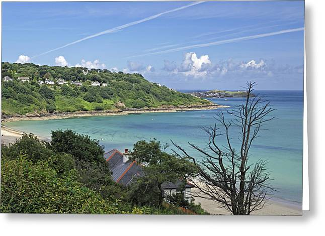 Seaside Greeting Cards - Carbis Bay to St Ives Greeting Card by Rod Johnson