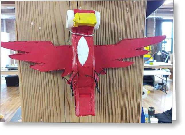 Winged Sculptures Greeting Cards - Cardinal 2 Greeting Card by William Douglas