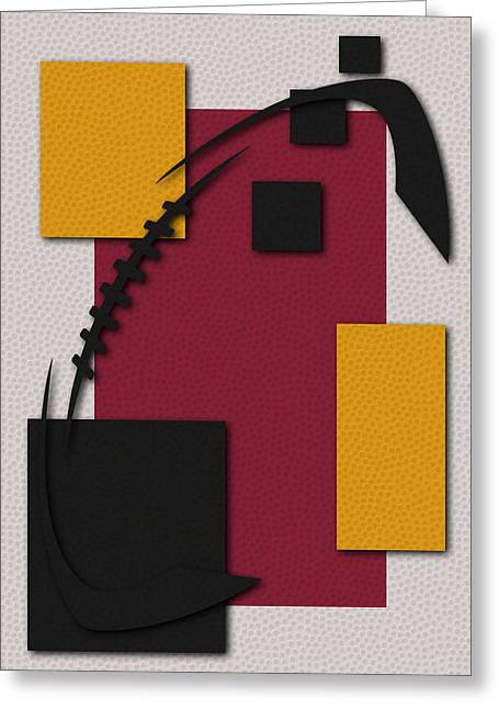 Arizona Cardinals Greeting Cards - Cardinals Football Art Greeting Card by Joe Hamilton