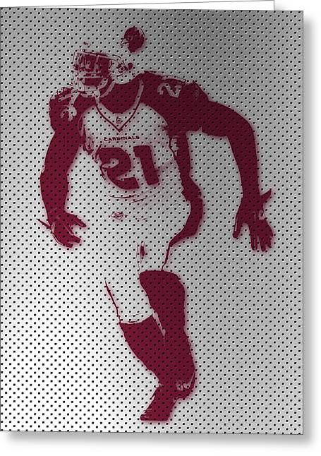 Peterson Greeting Cards - Cardinals Patrick Peterson Greeting Card by Joe Hamilton