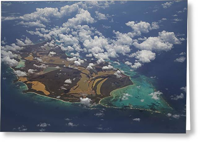 Office Space Greeting Cards - Caribbean High Greeting Card by Betsy C  Knapp