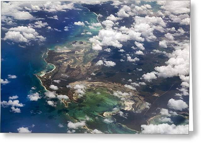 Limited Vision Greeting Cards - Caribbean Limitless Sky Greeting Card by Betsy A  Cutler