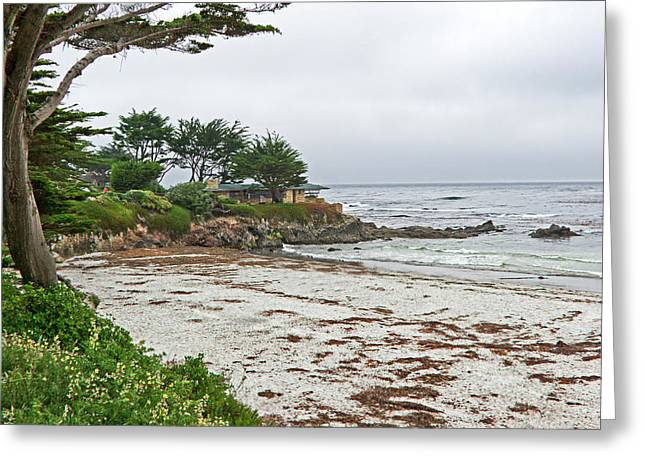 House By The Sea Greeting Cards - Carmel By The Sea - California Greeting Card by Brendan Reals