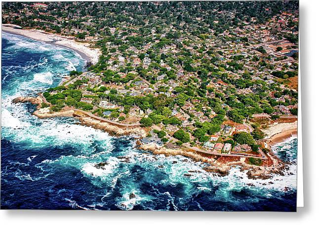 Carmel By The Sea Greeting Card by Chris Leipelt