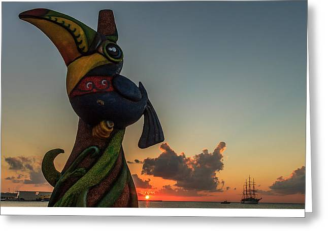 Pirates Greeting Cards - Carnaval Greeting Card by Fred  Boehm