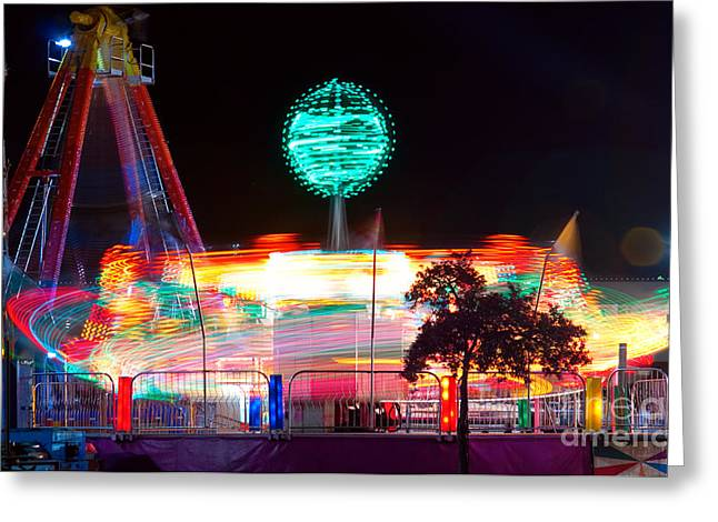 Celebration Art Print Greeting Cards - Carnival Excitement Greeting Card by James BO  Insogna