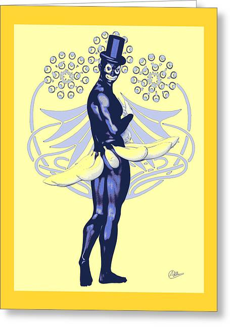 Carnival Of Rio Greeting Card by Quim Abella