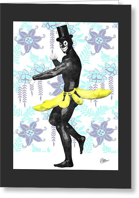 Vaudeville Greeting Cards - Paris Carnival   Greeting Card by Quim Abella