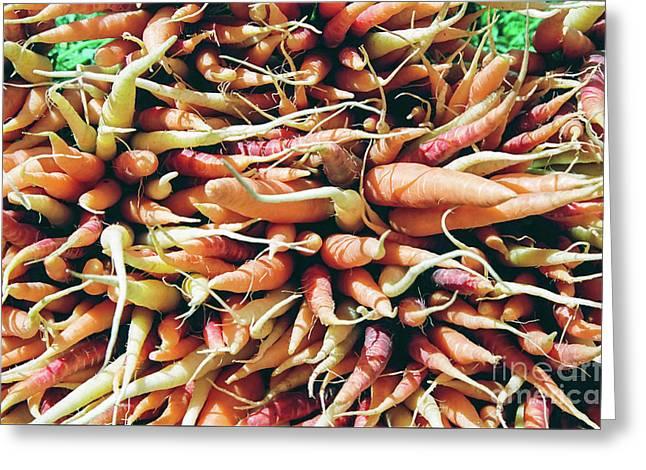 Carrots Greeting Card by Ian MacDonald
