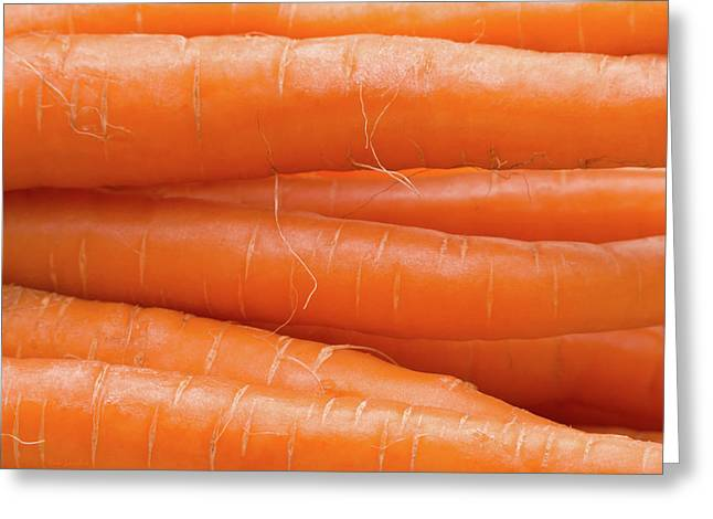 Carrots Greeting Card by Wim Lanclus