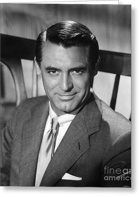 20th Greeting Cards - Cary Grant (1904-1986) Greeting Card by Granger