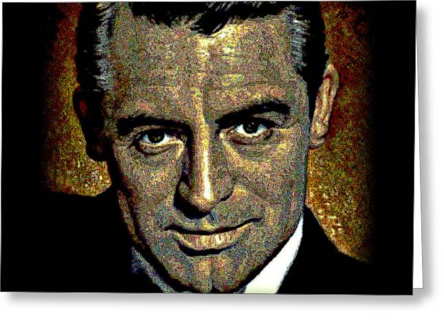 Cary Grant Greeting Card by WBK