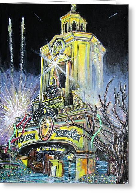 Pirates Greeting Cards - Casa Bonita Greeting Card by John Foss