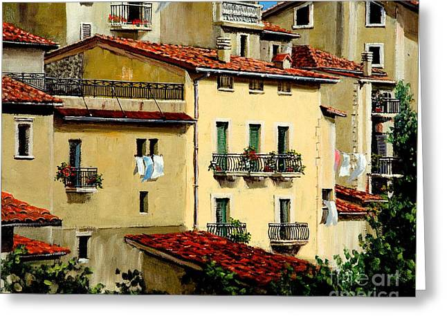 Casa Del Sol Greeting Card by Michael Swanson