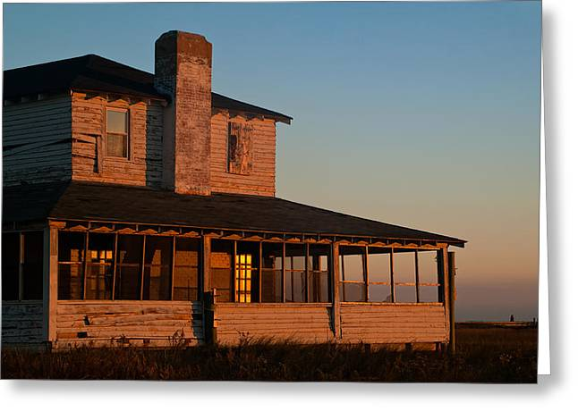 Cape Lookout Greeting Cards - Casablanca Memories Greeting Card by Donna Eaton