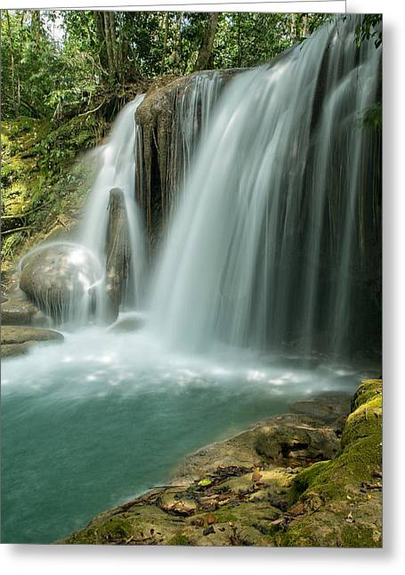 Roberto Greeting Cards - Magical Cascade Greeting Card by Jurgen Lorenzen