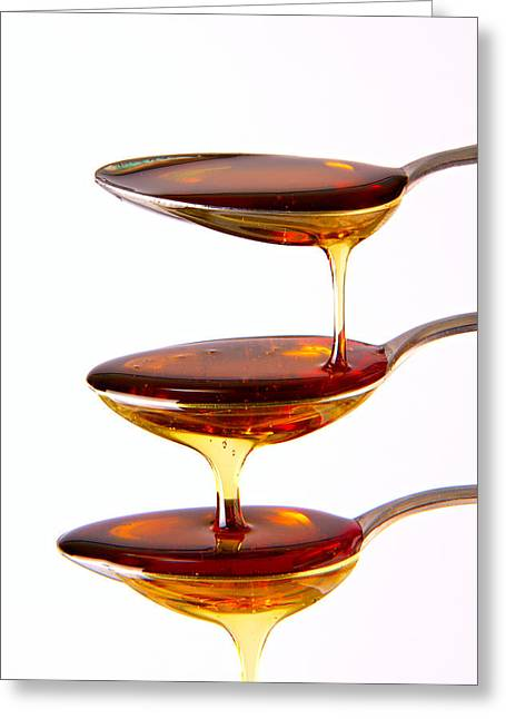 Syrups Greeting Cards - Cascading Greeting Card by Gert Lavsen