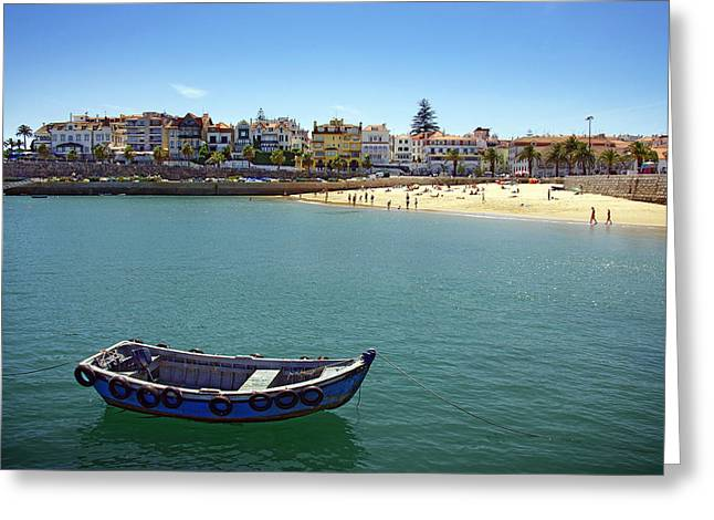 Cascais Greeting Card by Carlos Caetano