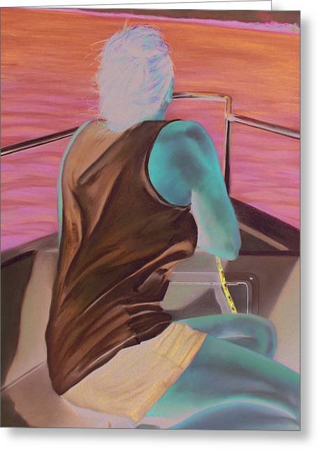 Cloth Pastels Greeting Cards - Casey Key Greeting Card by Paul Autodore