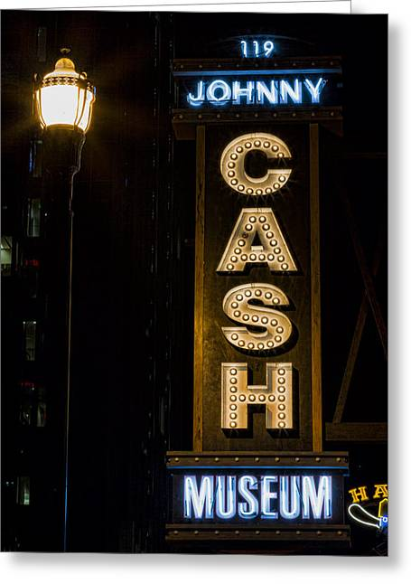 Cash Greeting Card by Stephen Stookey