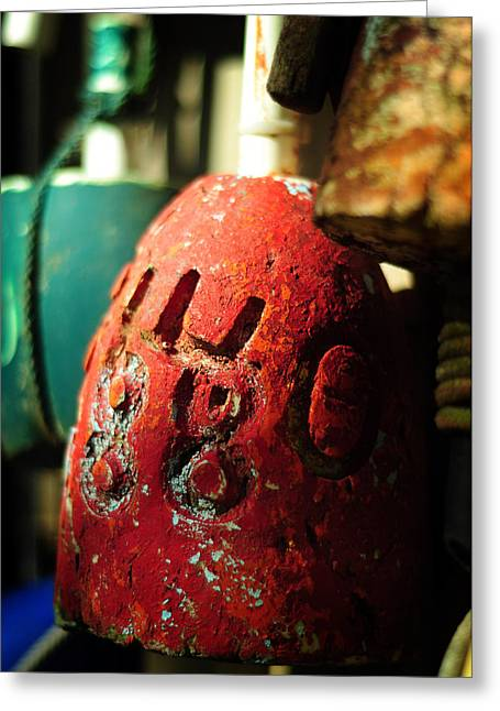 Buoy Greeting Cards - Cast Away Greeting Card by Rebecca Sherman