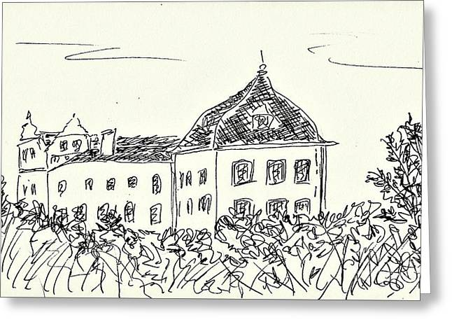 Castle Of Coswig Greeting Card by Chani Demuijlder
