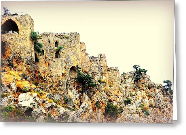 Sweating Greeting Cards - Castle E  Greeting Card by Hilde Widerberg