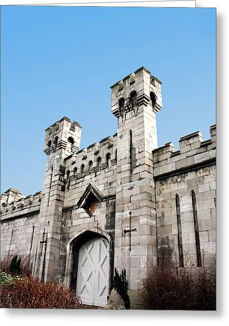 Castle Gates Greeting Cards - Castle Gate Greeting Card by Joe Burns