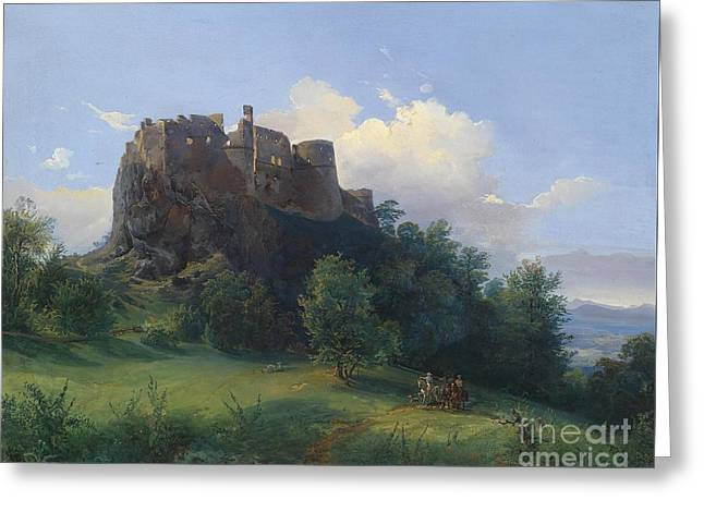 Josef Greeting Cards - Castle  Greeting Card by Celestial Images