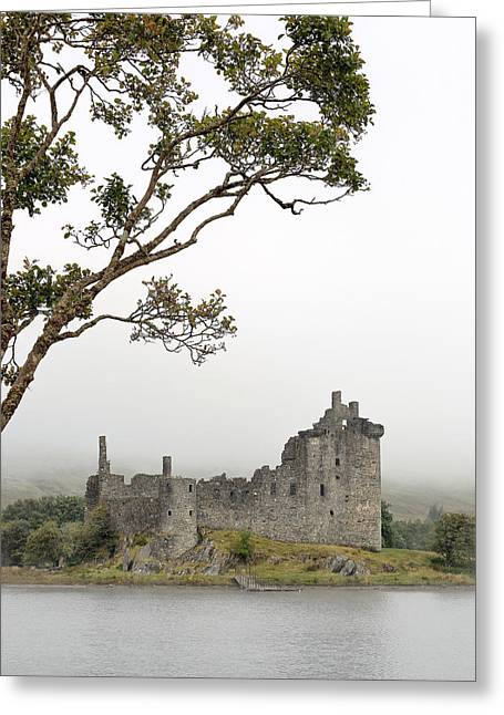 Morning Mist Images Greeting Cards - Castle Mist Greeting Card by Grant Glendinning