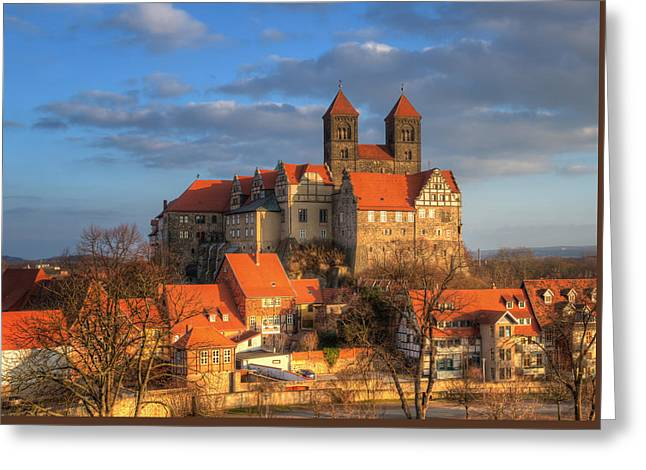 Tonemapping Greeting Cards - Castle Quedlinburg Greeting Card by Steffen Gierok