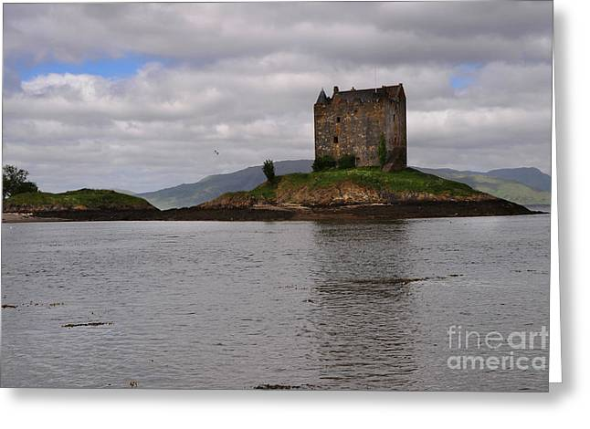 Castle Stalker Greeting Card by Stephen Smith