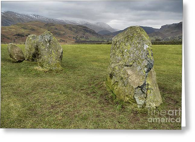 Castlerigg Stone Circle Greeting Card by Stephen Smith