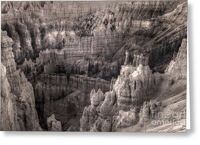 Sand Castles Greeting Cards - Castles Made of Sand in the Hoodoos  Greeting Card by William Fields