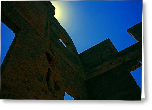 Ravaged By Time Greeting Cards - Castlewood Remains Greeting Card by Mike Flynn