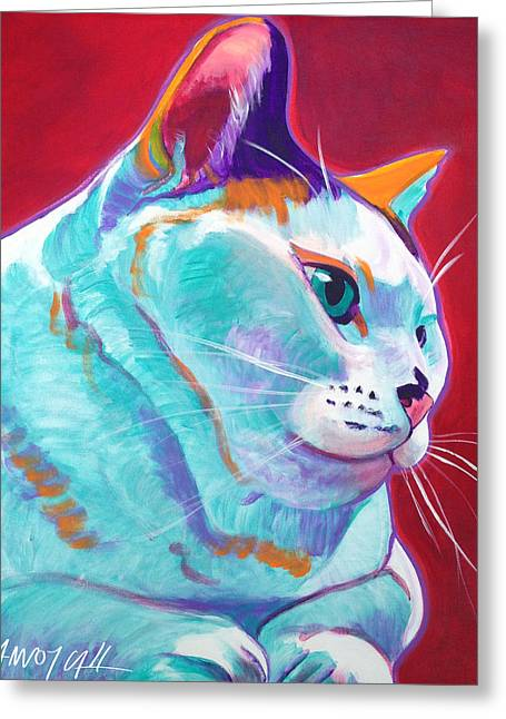 Cat - Pixie Greeting Card by Alicia VanNoy Call