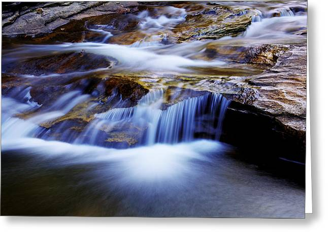 Cataract Falls Greeting Card by Chad Dutson