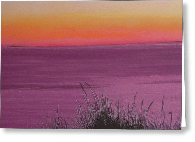Catching The Mood At Cape Cod Bay Greeting Card by Harvey Rogosin