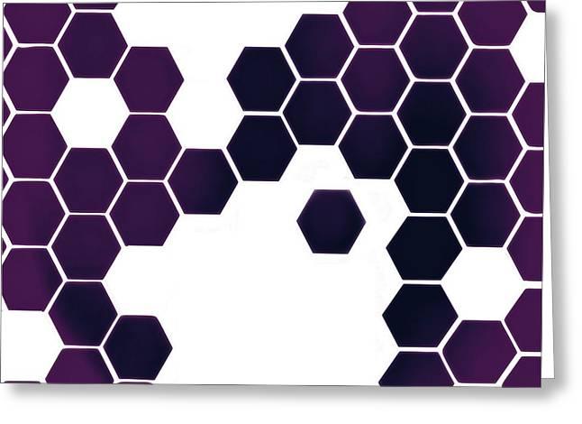 Biochemical Digital Greeting Cards - Catenae Ten Greeting Card by Randolph Ping