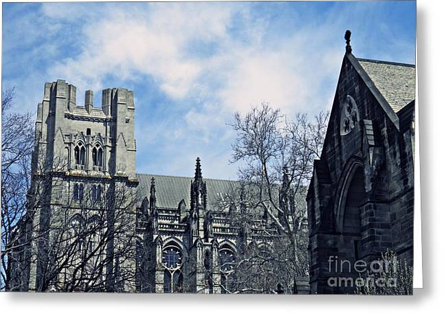Episcopalian Greeting Cards - Cathedral 2 Greeting Card by Sarah Loft