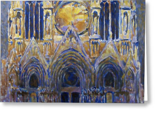 Valeriy Mavlo Greeting Cards - Cathedral 2 Greeting Card by Valeriy Mavlo