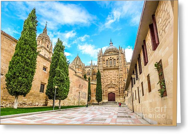 Southern Province Greeting Cards - Cathedral of Salamanca Greeting Card by JR Photography