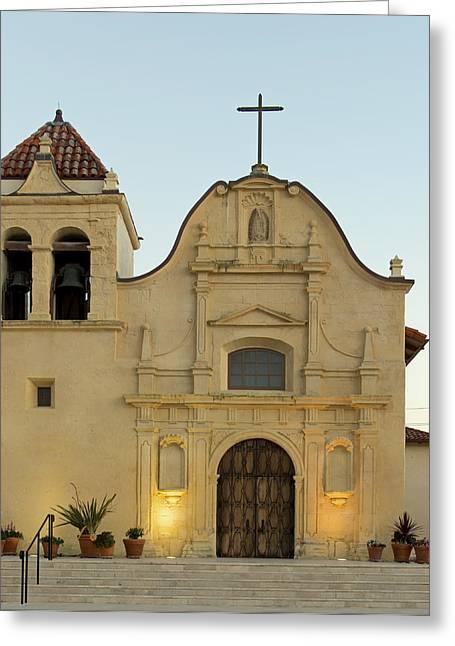 Cathedral Of San Carlos Borromeo Greeting Card by Mountain Dreams