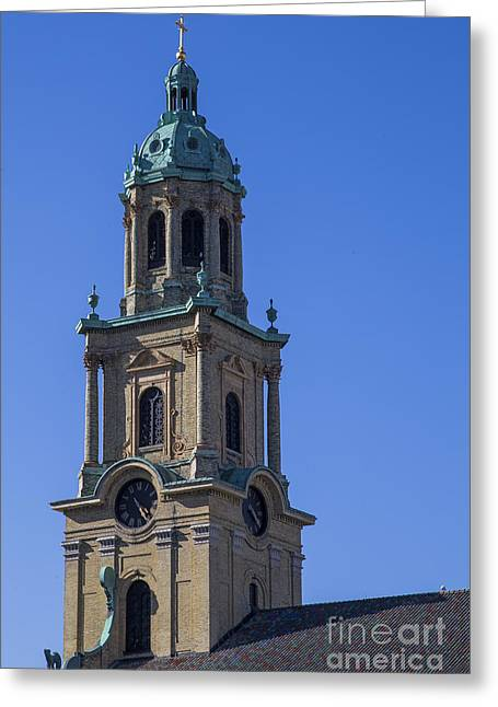 John The Evangelist Greeting Cards - Cathedral of St. John the Evangelist Greeting Card by Twenty Two North Photography