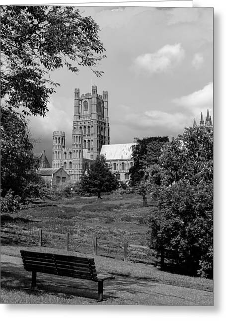 British Portraits Greeting Cards - Cathedral portrait Greeting Card by Katey jane Andrews