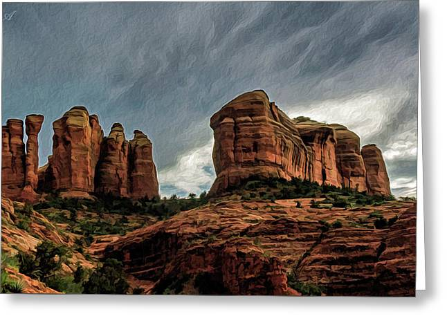 Cathedral Rock 06-027 Greeting Card by Scott McAllister