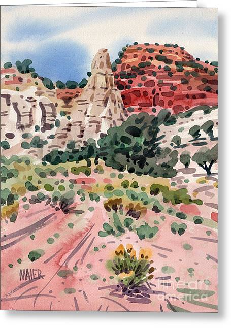 Cathedral Rock Greeting Card by Donald Maier