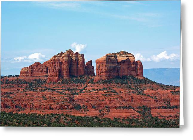 Cathedral Rock Greeting Card by Kelly Wade