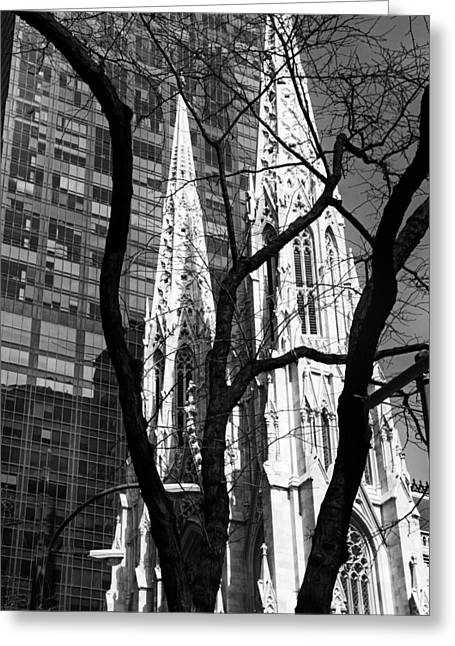 Cathedral Spires Greeting Card by Jessica Jenney