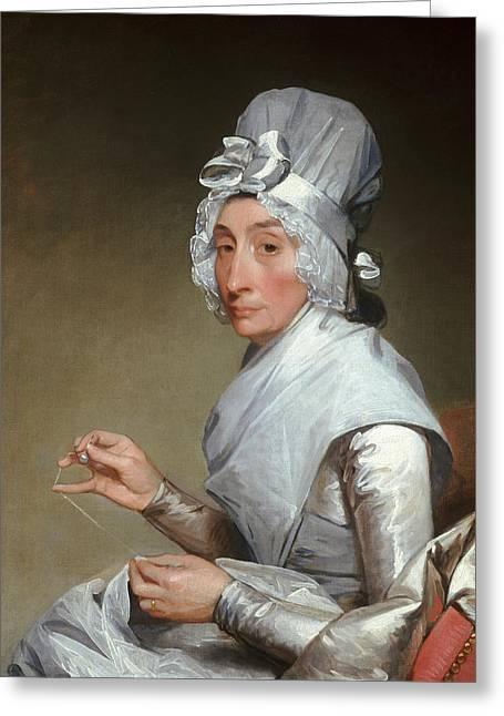Catherine Brass Yates  Greeting Card by Gilbert Stuart